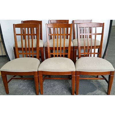 Dining and Breakfast Bar Chairs - Lot of Six