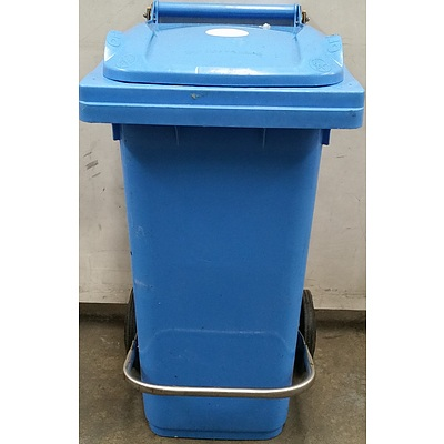 80L Sulo Two Wheel Mobile Garbage Bin with Lid Lifter