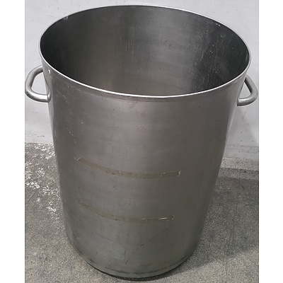 Stainless Steel 120 Litre Waste Drum