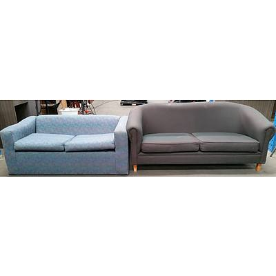 Two Seat Sofas - Lot of Two