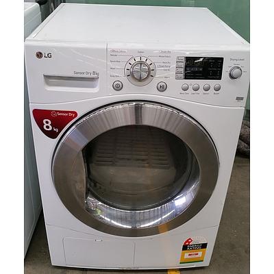 LG 8KG Sensor Dry Clothes Dryer