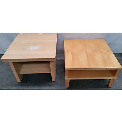 Office Occasional Tables - Lot of Two
