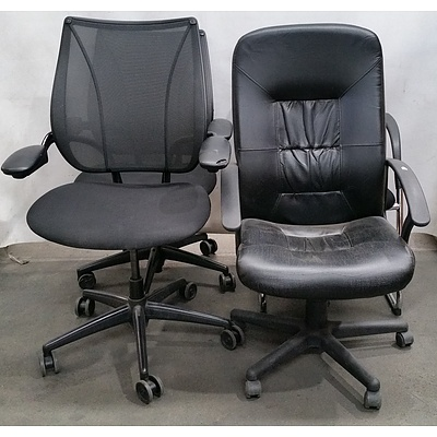 Office Chairs - Lot of Four