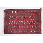 Hand Knotted Wool Pile Bokhara Rug