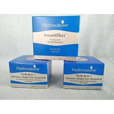 Hydroxatone eye treatments & wrinkle reducer