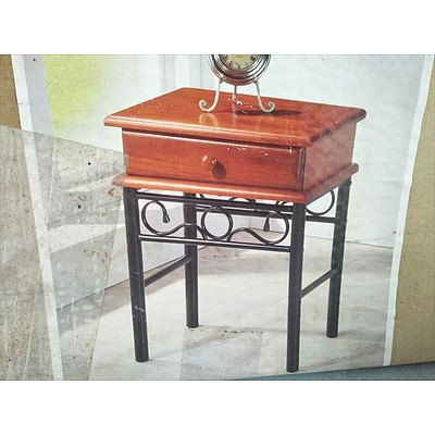 Lawson bedside table with drawer (New)