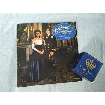 Record of the Royal Wedding of HRH Prince Andrew and Sarah Ferguson 1986 & The Royal Trivia Quiz card game