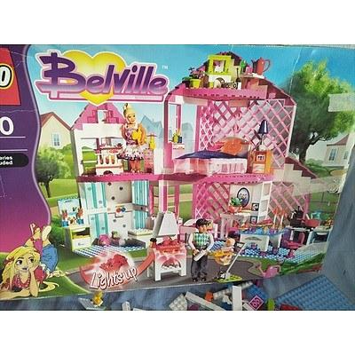 Assorted lego / Belville lego set 7586