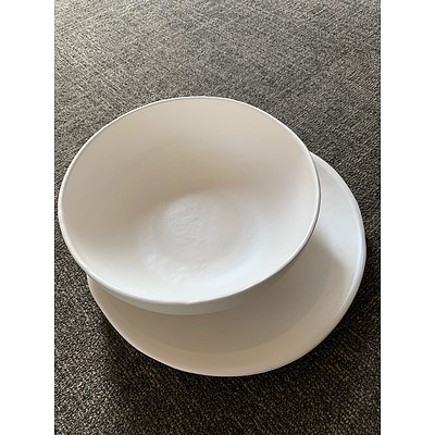 Batch Ceramics - Welcome Bowl and Welcome Platter