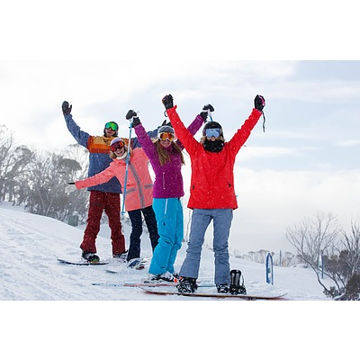 Thredbo Guest Services - 2 Day Lift and Lesson Plus Sport Rental