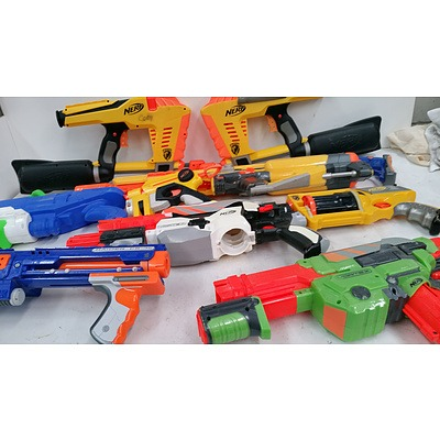 Nerf Guns - Collection of 8