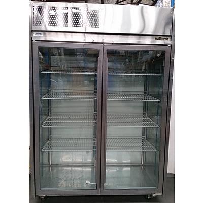 Williams 1000 Litre Two Door Commercial Display Fridge