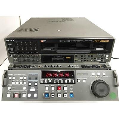 Sony DVW-500P Digital Betacam Digital VideoCassette Recorder