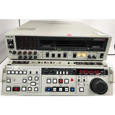 Sony BVW-75P Betacam SP VideoCassette Recorder
