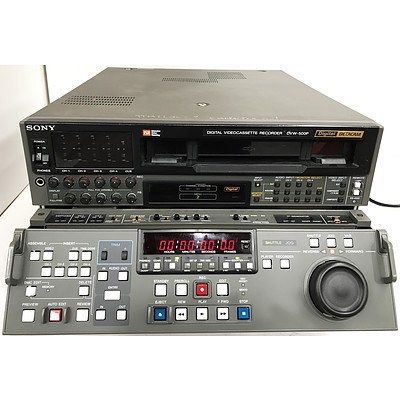 Sony DVW-500P Digital Betacam Digital VideoCassette Recorder