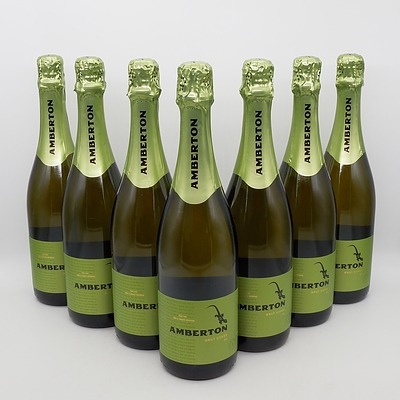 Seven Bottles of 750ml Amberton Brut Cuvee NV