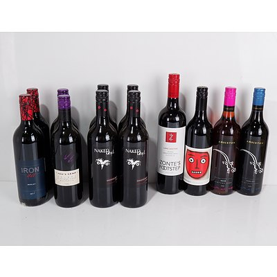 Case of 12x 750ml Mixed Red Wine