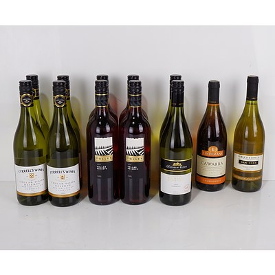 Case of 12x 750ml Mixed Rose and White Wine