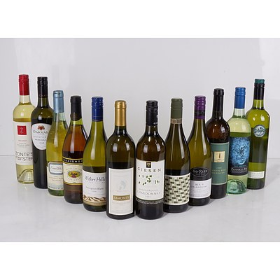 Case of 12x 750ml Mixed White Wine