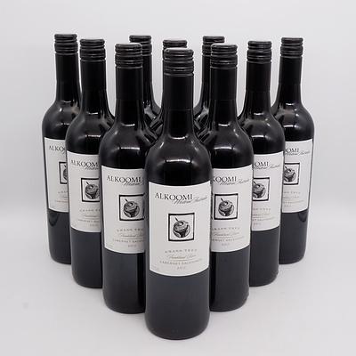 Ten Bottles of Alkoomi 2015 Grass Tree Kranklin River Cabernet Sauvignon 750ml