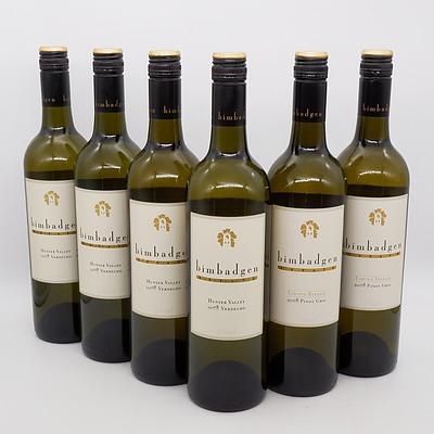 Four Bottles of Bimbadgen 2008 Hunter Valley Verdelho 750ml and Two Bottles of Bimbadgen 2008 Limited Release Pinot Gris 750ml