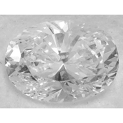 Oval Brilliant Cut Diamond - 1.00 CARATS