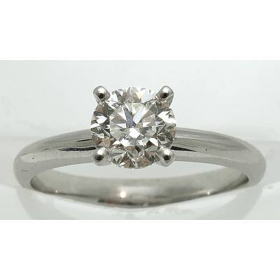 Brilliant-Cut 1.01ct Diamond Ring - with GIA Certificate