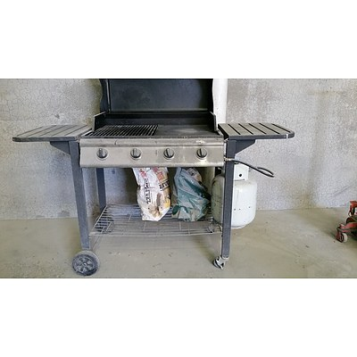 Four Burner Gas Barbecue