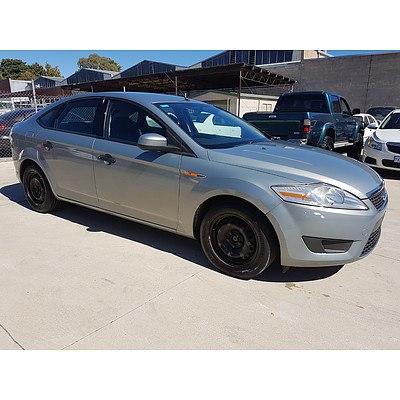 10/2009 Ford Mondeo LX MB 5d Hatchback Silver 2.3L