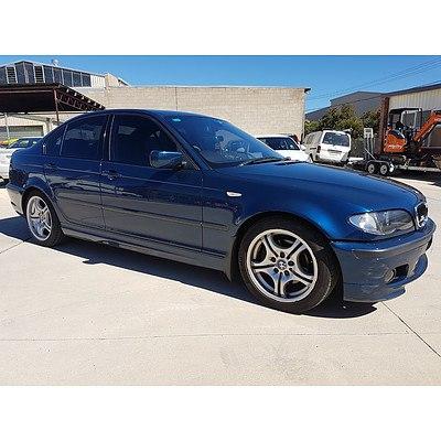 1/2004 BMW 325i E46 4d Sedan Blue 2.5L