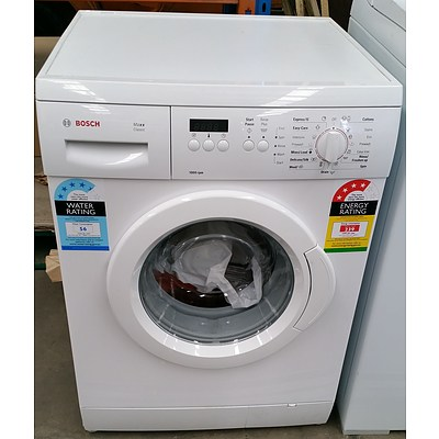 Bosch Maxx Classic 6.KG Front Loader Washing Machine