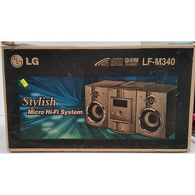 LG LM-M340 Micro Hi Fi System