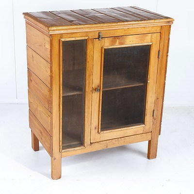 Old Australian Meatsafe made from Recycled Pine Floorboards