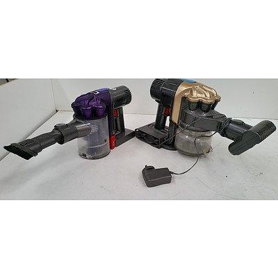 Dyson DC16 & 31 Motorhead Hand Held Vacuum Cleaners