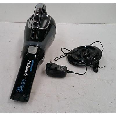 Black & Decker Dustbuster