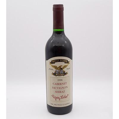 Wolf Blass Grey Label 1996 Cabernet Sauvignon Shiraz 750mL