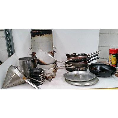 Pots, Pans & Skillets - Box Lot of 30 peices