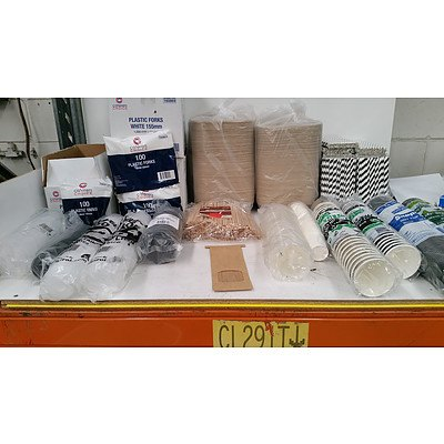 Take Away Food Service items -  Pallet Lot