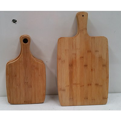 Bamboo Serving Platters