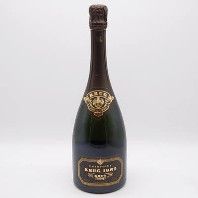 Krug 1989 Brut Champagne 750mL
