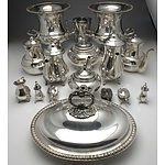 Selection of Silver Plated Dinnerware, Including Perfection, Hecworth Reproduction Sheffield, Strachan, Deakin and More