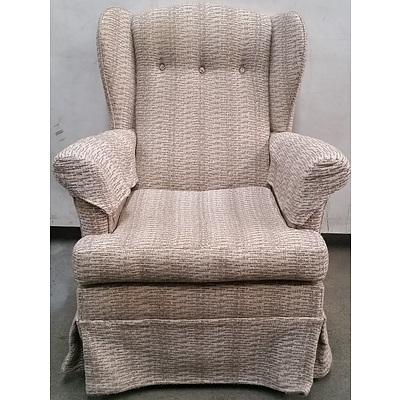 Wingback Single Armchair