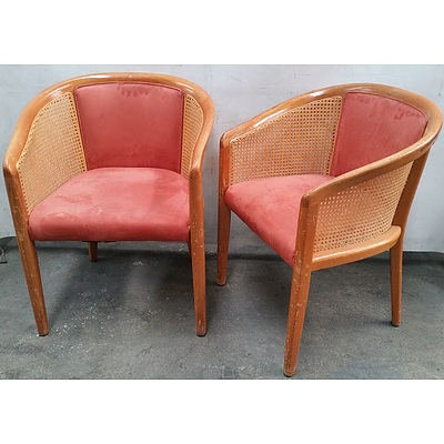 Tub Chairs - Lot of Two