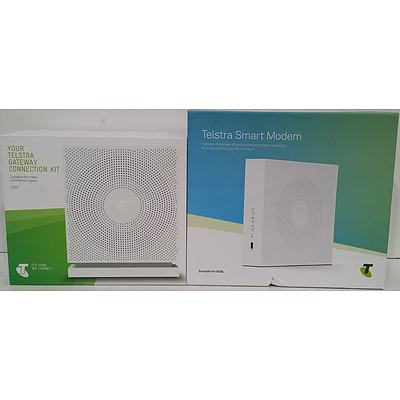 Telstra Smart Modem and Telstra Gateway Connection Kit
