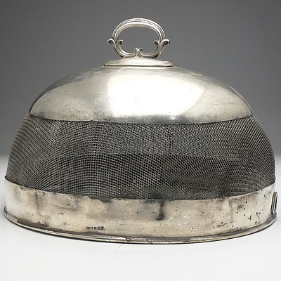 Victorian Silver Plated Food Cover
