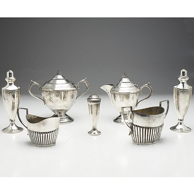 Fairfax & Roberts and Sir John Bennett Silver Plated Cream Jugs and Sugar Bowls and More