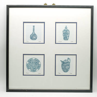 Chan Kong Limited Edition Colour Engravings
