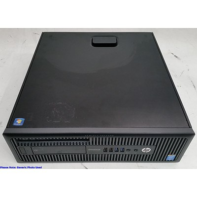 HP EliteDesk 800 G1 Small Form Factor Core i5 (4690) 3.50GHz Computer