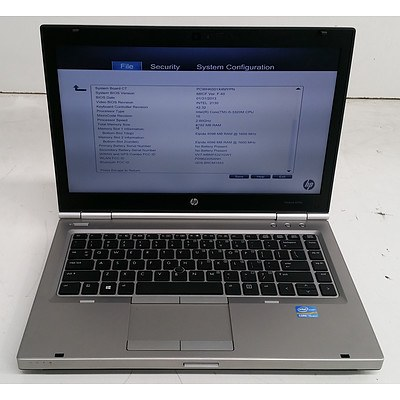 HP EliteBook 8470p 14-Inch Core i5 (3320M) 2.60GHz Laptop