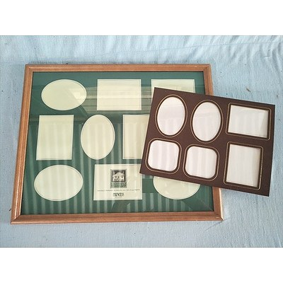 2 Collage Photo Frames